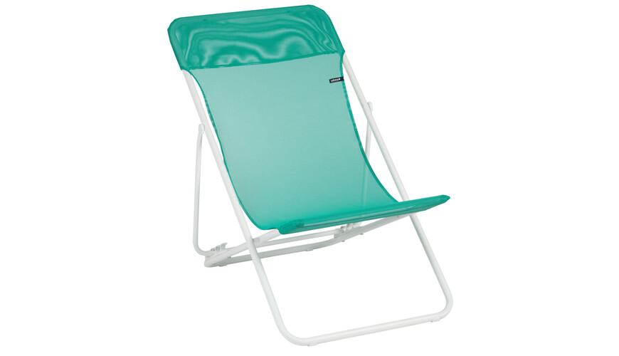 Lafuma Mobilier MAXI TRANSAT - Siège camping - Sun Glam Batyline turquoise